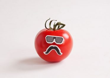 Edible Disguises On a tomato