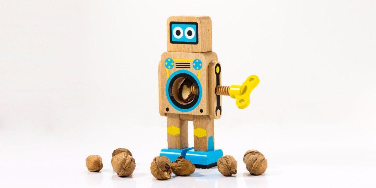 robot-nutcracker-wood