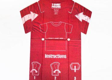 T-Shirt Folder Open