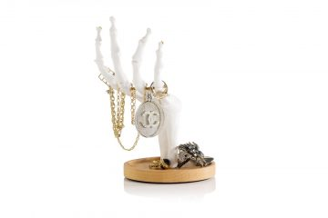 Skeleton Jewelry Holder