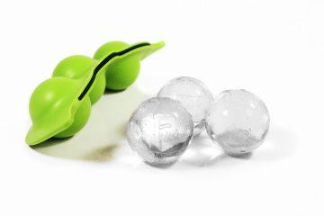 Frozen Pea Ice Cubes