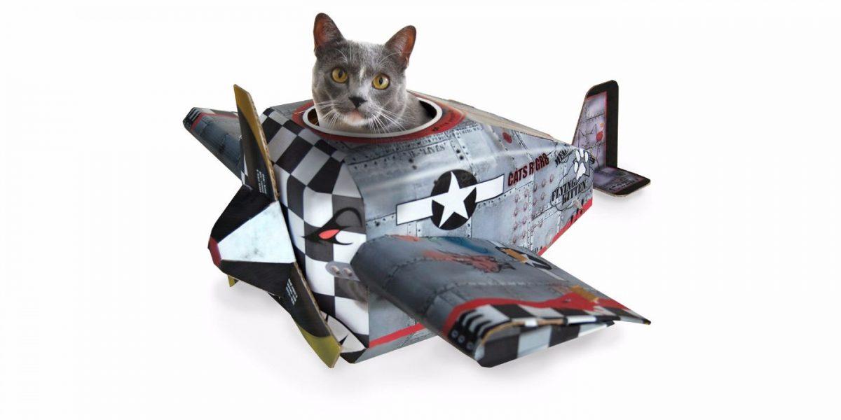 Plane Cat Playhouse