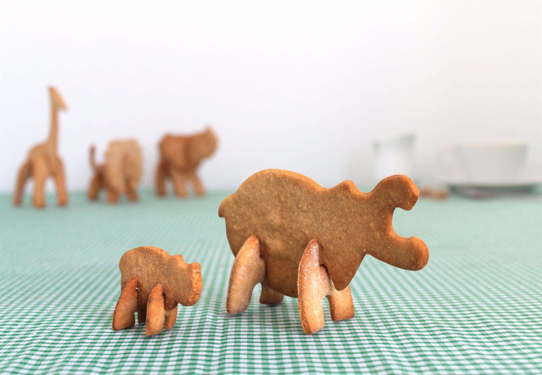 3D Hippo Safari Cookie Cutter