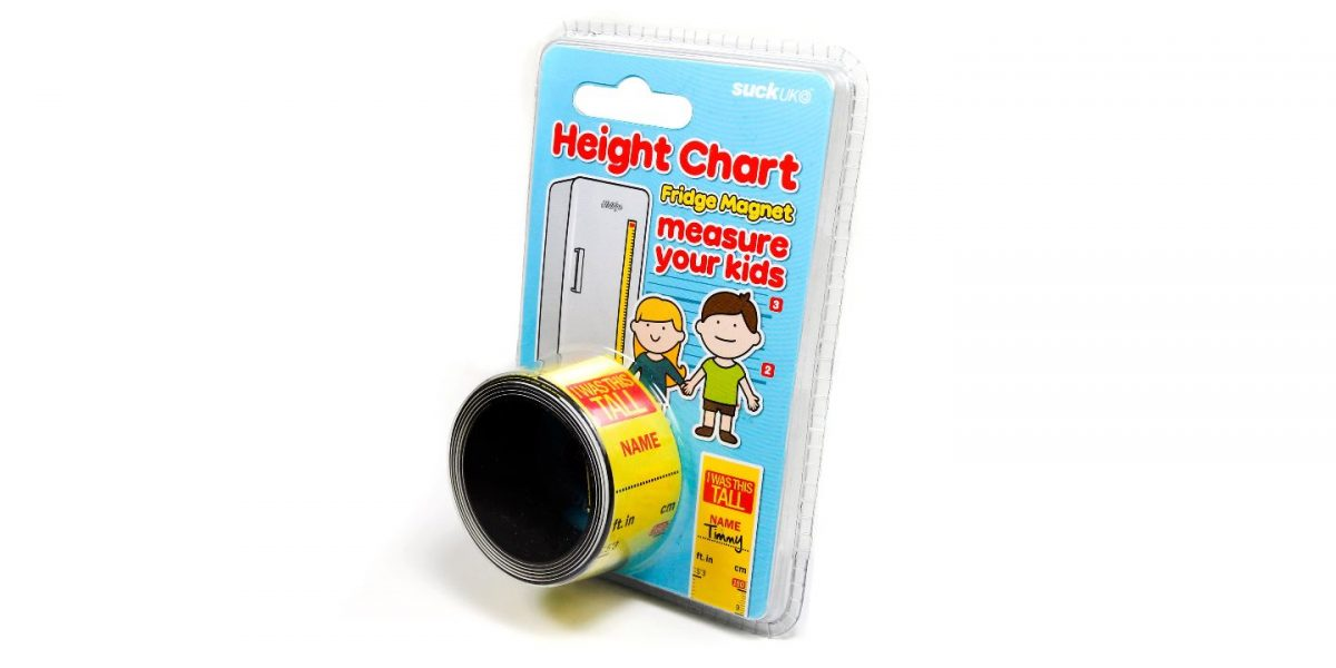 Height Chart Fridge Magnet